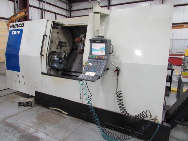 Hurco TM18 CNC Turning Center (2011)