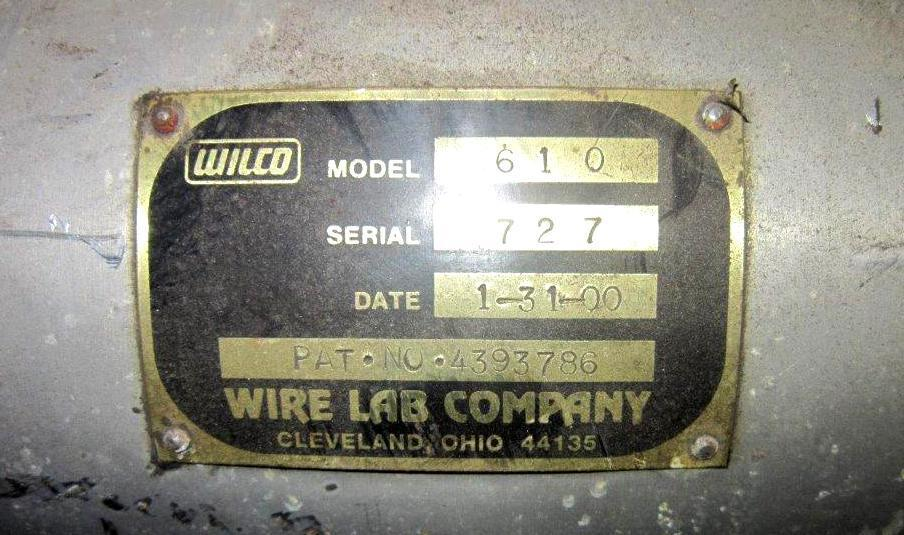 Wire Lab 920 Air Jet Descaling System