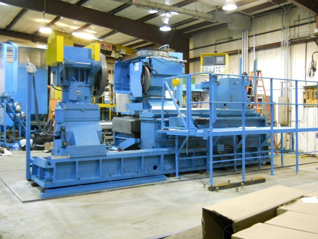 "Butler Newall 36"" x 120"" CNC O.D./I.D.(Landing Gear) Strut Grinder, Swing in Gap: 60"" Approx. or Greater, New 1998 (Rebuild 2011)"