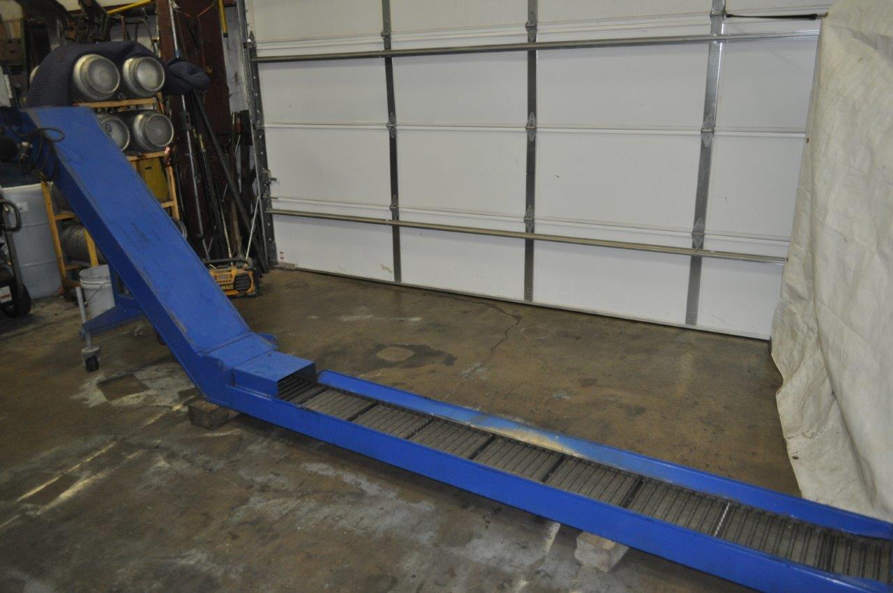 "10"" x 16"" Henning Chip Conveyor Model 101636"