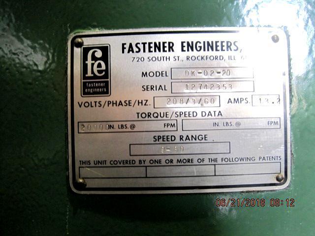 """1/4"""" Fastener Engineers DK-02-20 Wire Drawer .250"""