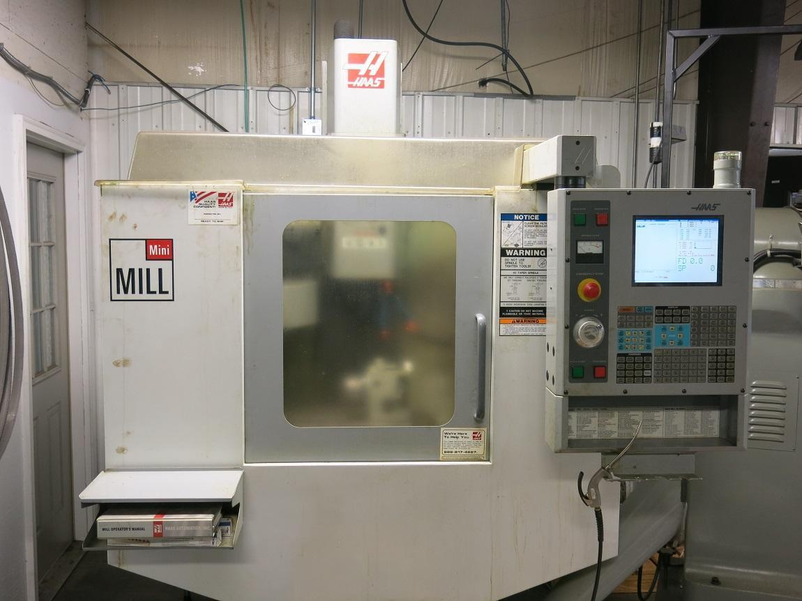 Haas CNC Mini Mill Vertical Machining Center,  New 2005