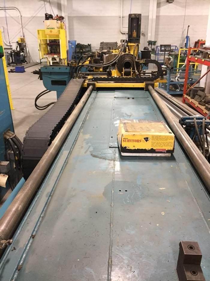 """Addison DB-120 4.5"""" Hydraulic Rotary Tube Bender"""