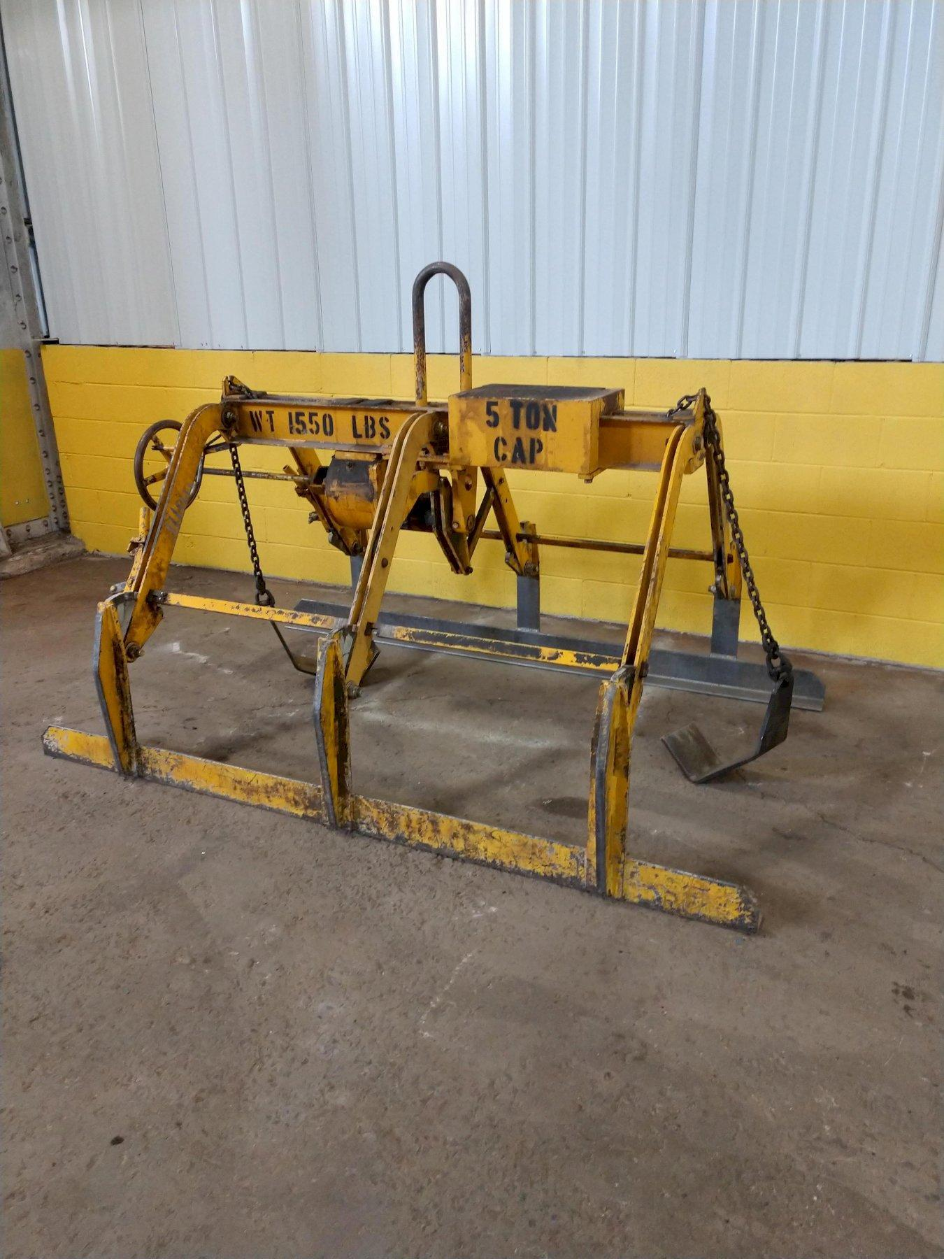 "10,000 LBS X 24"" TO 72"" WIDE C-F ADJUSTABLE PARALLELOGRAM SHEET LIFTER: STOCK #12563"