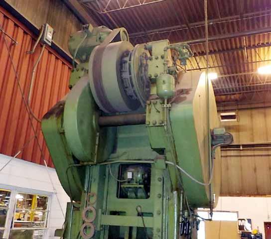 300-Ton Minster Model 40-10-½ Straight Side Double Crank Press