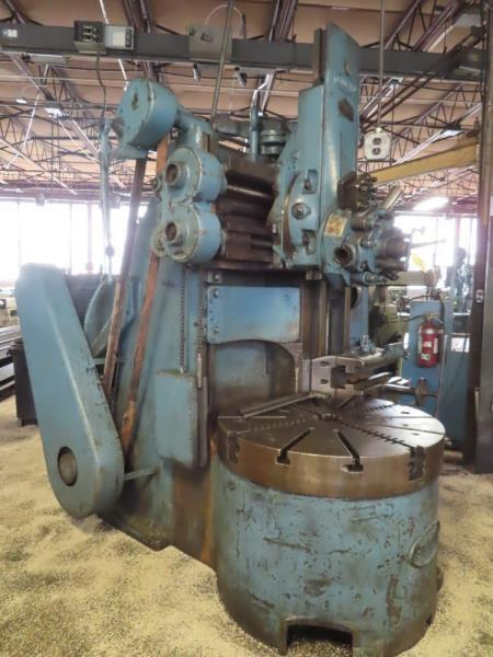 "42"" BULLARD 4 JAW VTL VERTICAL TURRET LATHE:STOCK# 13161"