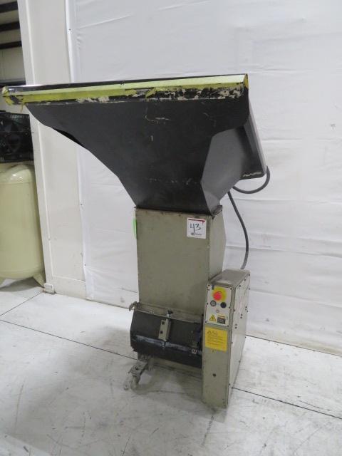 "Conair Used CR-617 Granulator, 37""X35""; 6""X16"", 3hp, 460V"