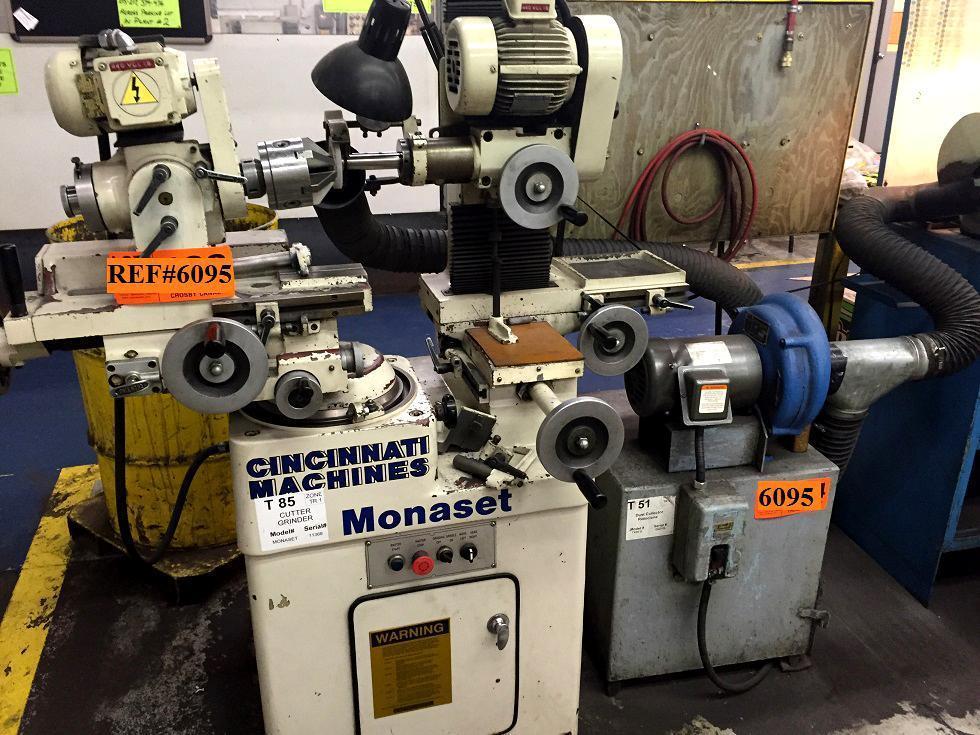 Monaset CM-2 Tool & Cutter Grinder