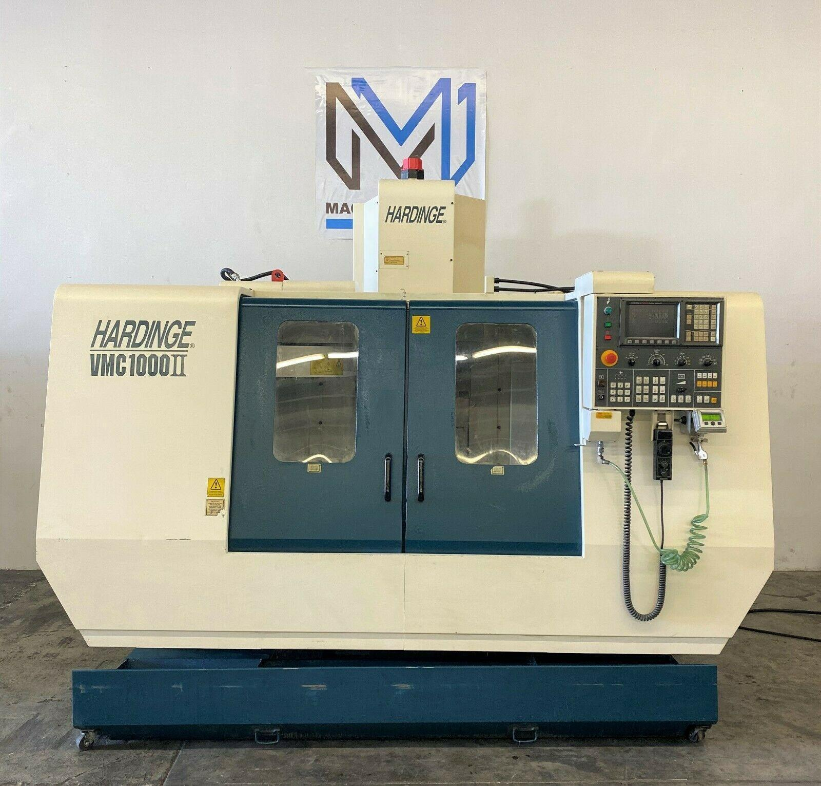 HARDINGE VMC 1000II VERTICAL MACHINING CENTER