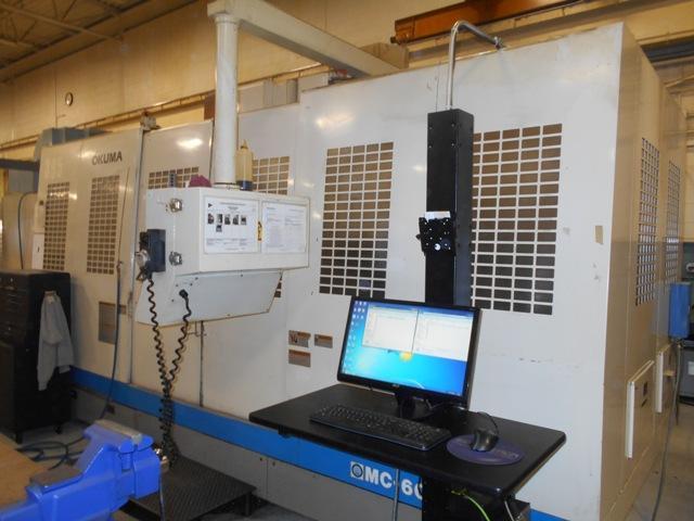 Okuma MC-60VAE CNC Vertical Machining Center, OSP 7000M, 59