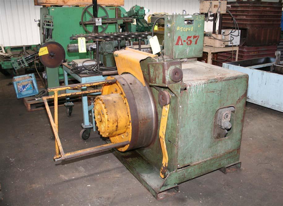 3/8' FASTENER ENGINEERS BULL BLOCK WIRE DRAWING MACHINE: STOCK #50848