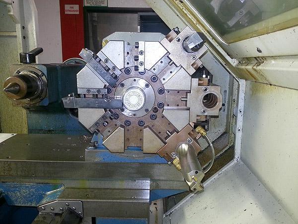 Romi M27 Flat Bed CNC/Manual Lathe