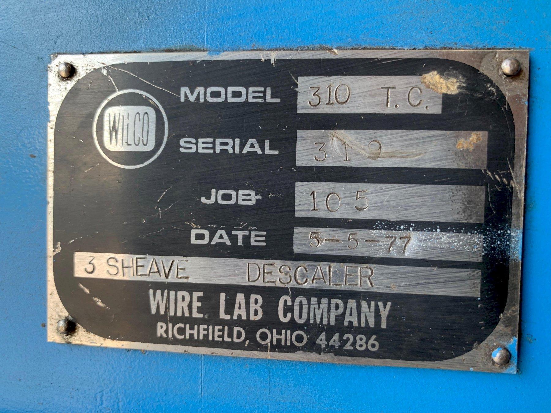 Wirelab 310 Wire Descaler