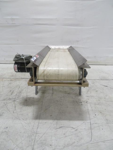 PPE Used Horizontal, Single-Speed Conveyor, 4ft x 13in, 115V