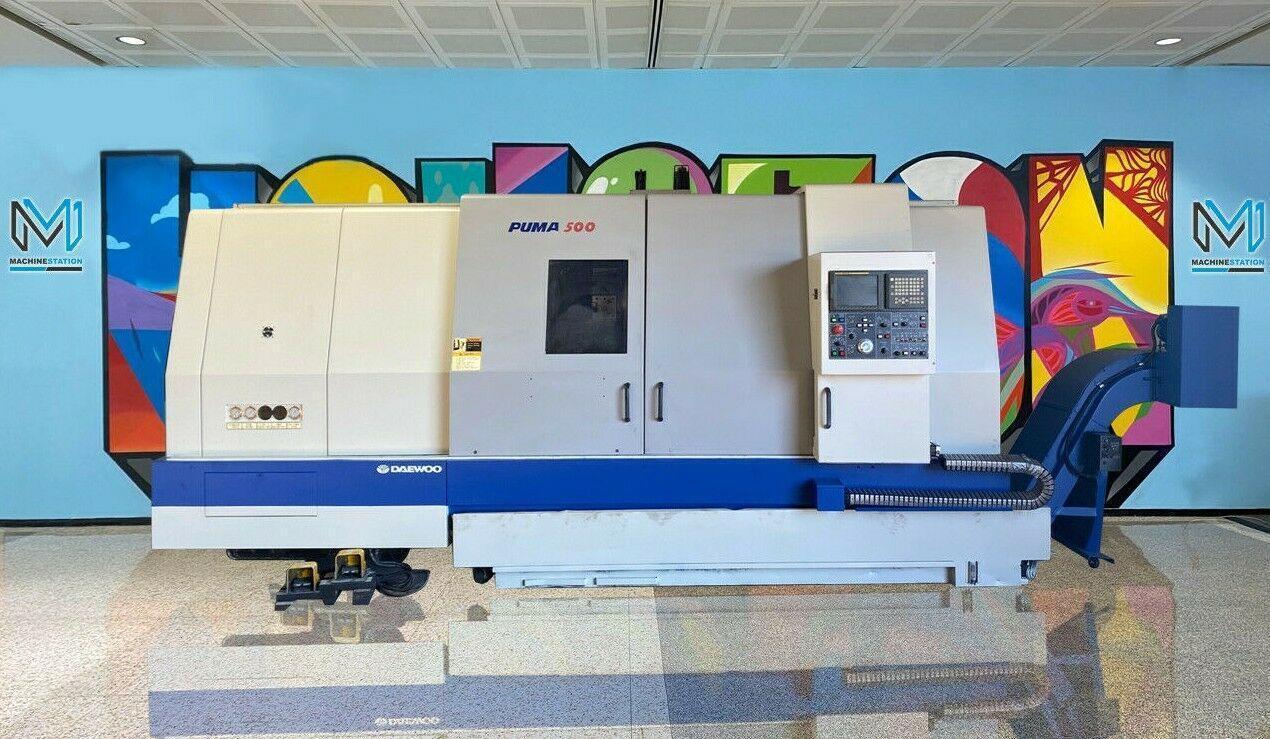 DAEWOO PUMA 500L CNC TURNING CENTER LATHE