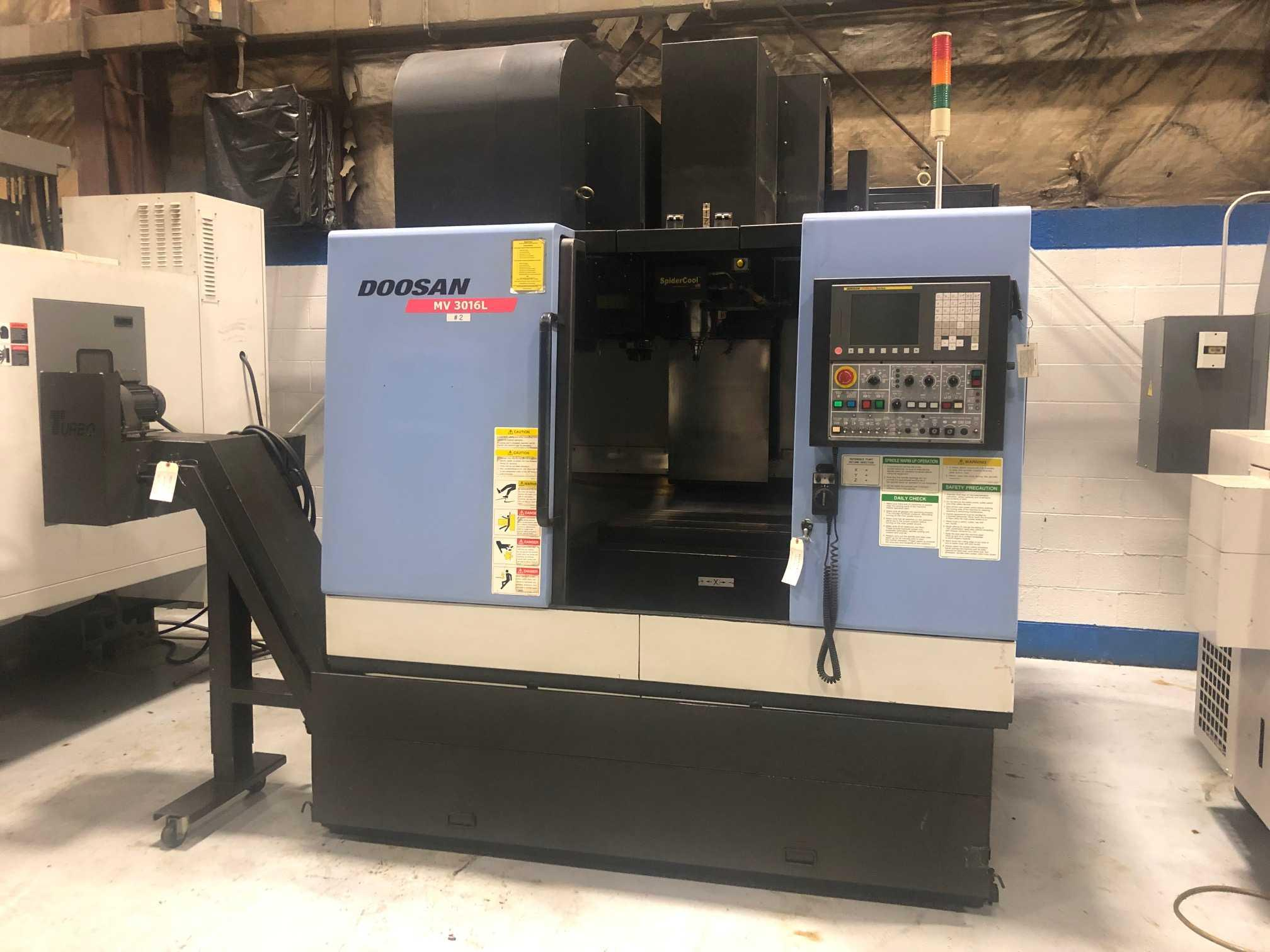 2008 DOOSAN MV3016L - Vertical Machining Center