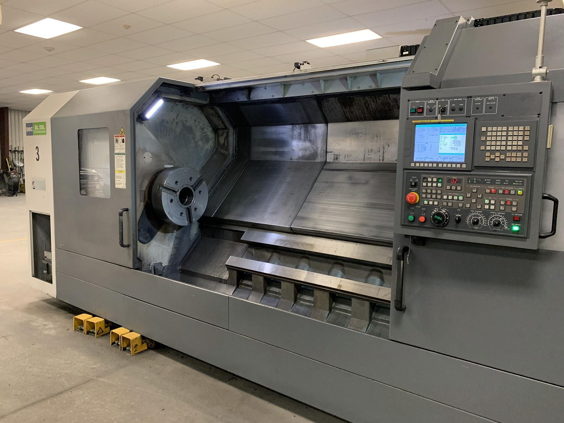 USED, DMC DL 55L CNC TURNING CENTER