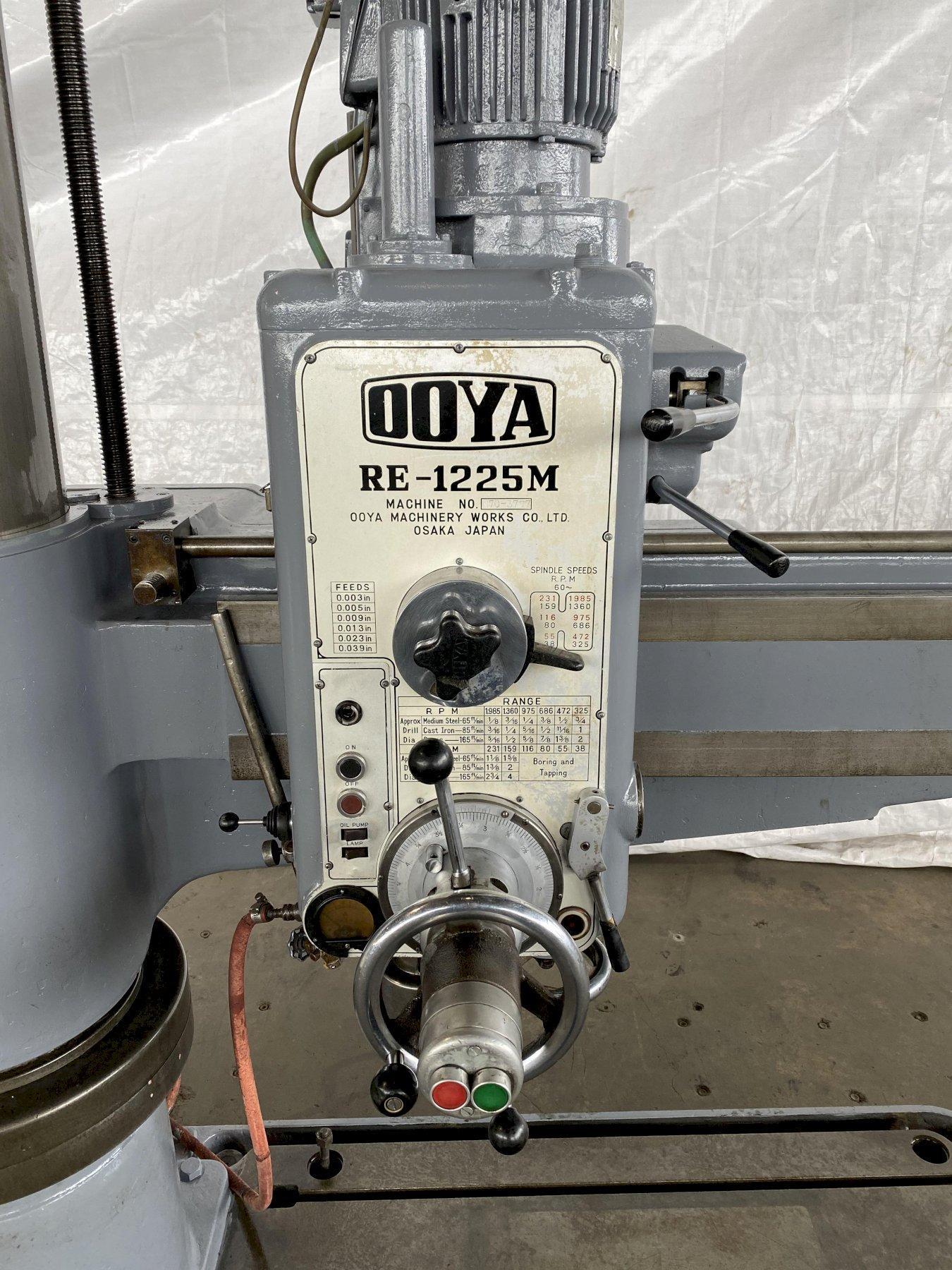 "4' x 12"" OOYA Radial Arm Drill"