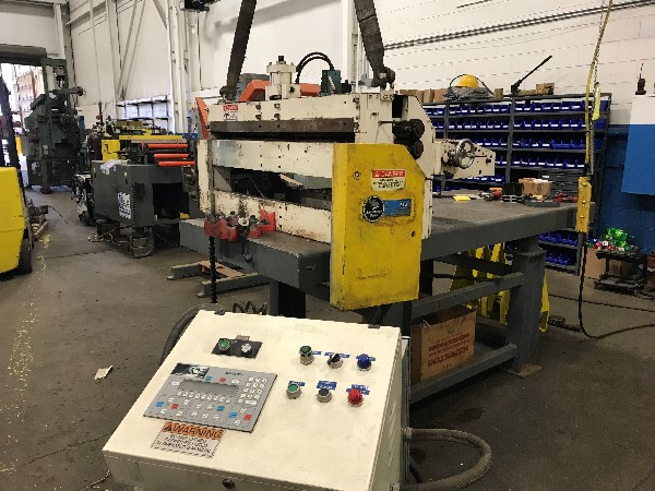 "(S) Coe Press Servo Roll Feed (Press Mounted) 42"" Wide x .070"""