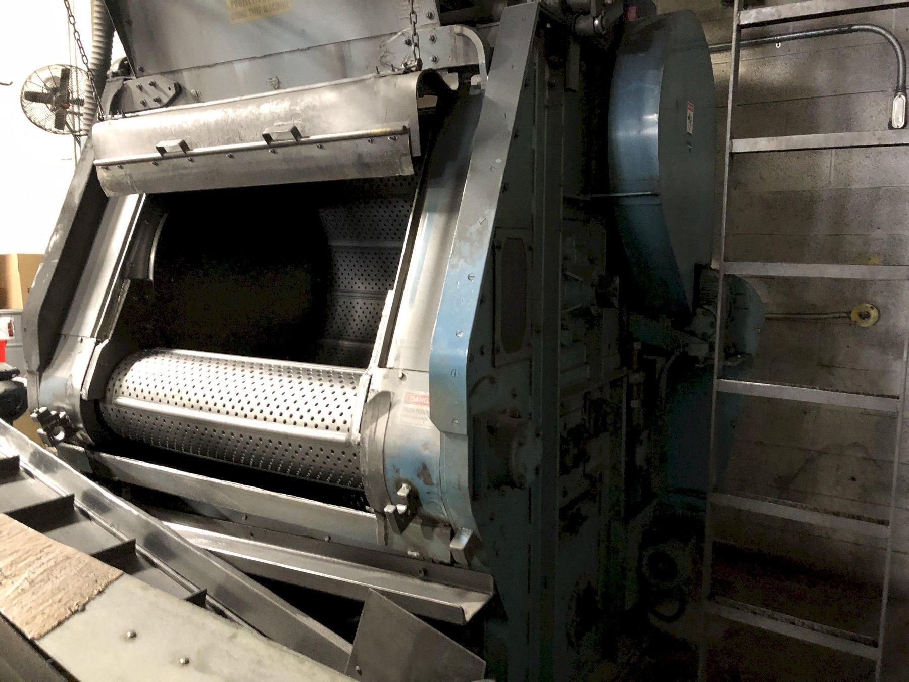 12 Cubic ft Wheelabrator Tumble Blast Machine