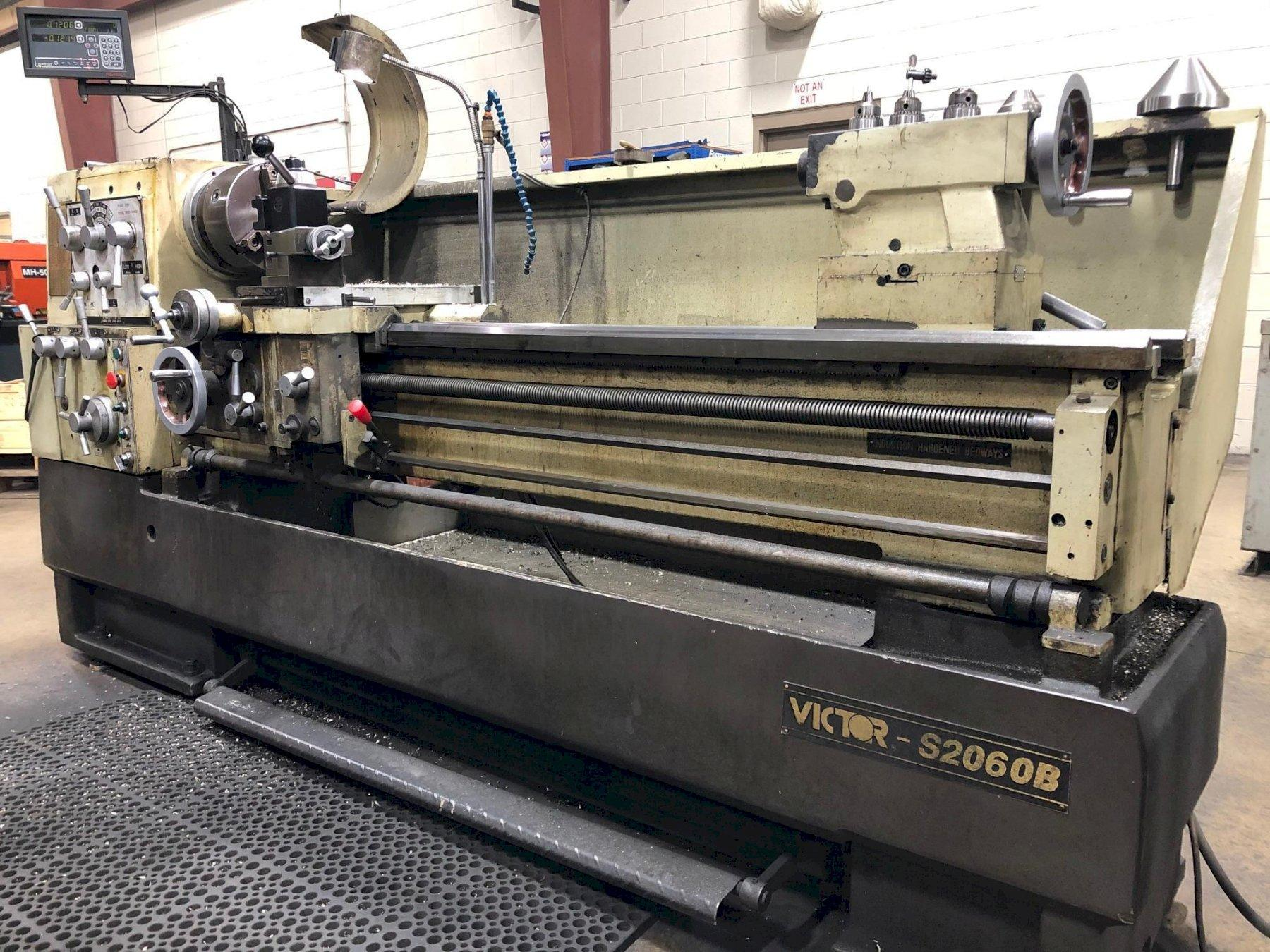 Victor Model S2060B Engine Lathe
