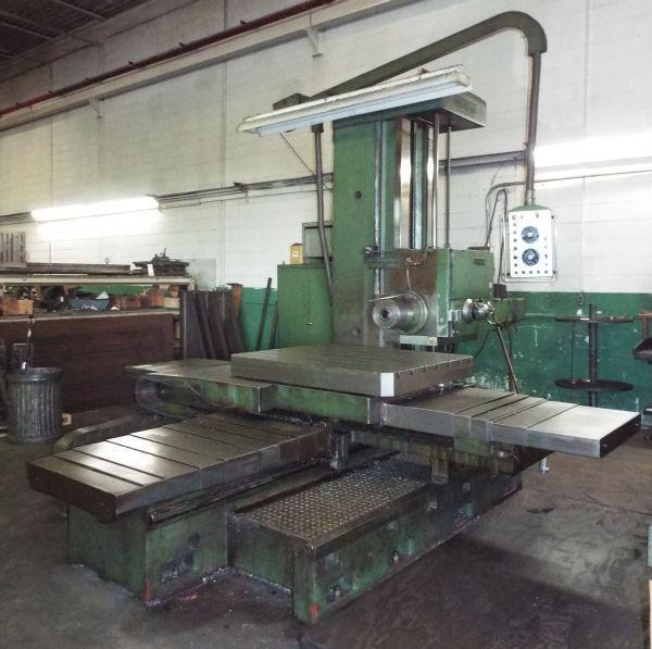 4-3/4' WOTAN MODEL B105/120M BORING MILL: STOCK #65061