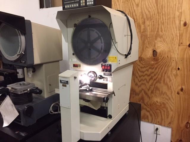 "16"" Baty Gagemaster Model 39/GMX Bench Top Optical Comparator, S/N 1427."