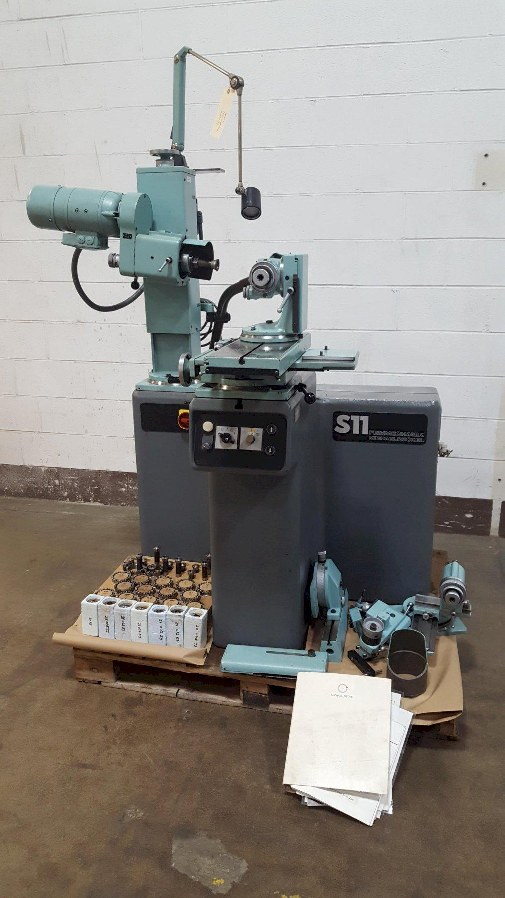 Deckel Model S11 Universal Tool & Cutter Grinder
