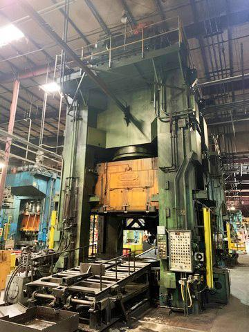 4000 TON DANLY MODEL H-400-94-84 HYDRAULIC PRESS: STOCK #14256