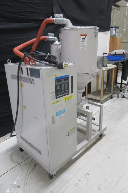 Matsui Used DMZ-40-25 Material Dryer, 25 lb/hr, Rotary Desiccant, 230V, Yr. 2003