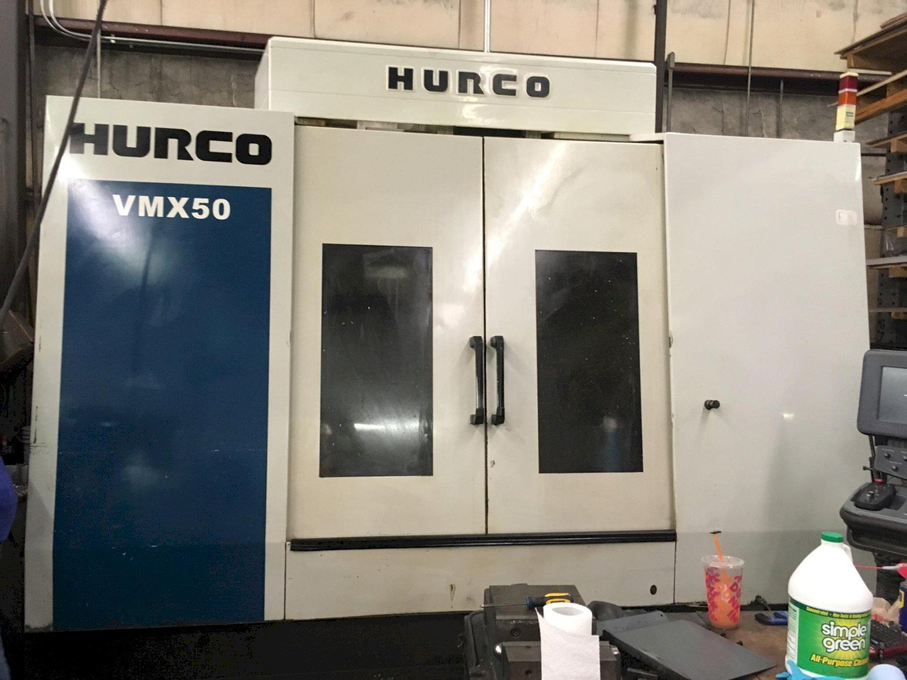 Hurco VMX 50 CNC Vertical Machining Center, Mfg. 2006