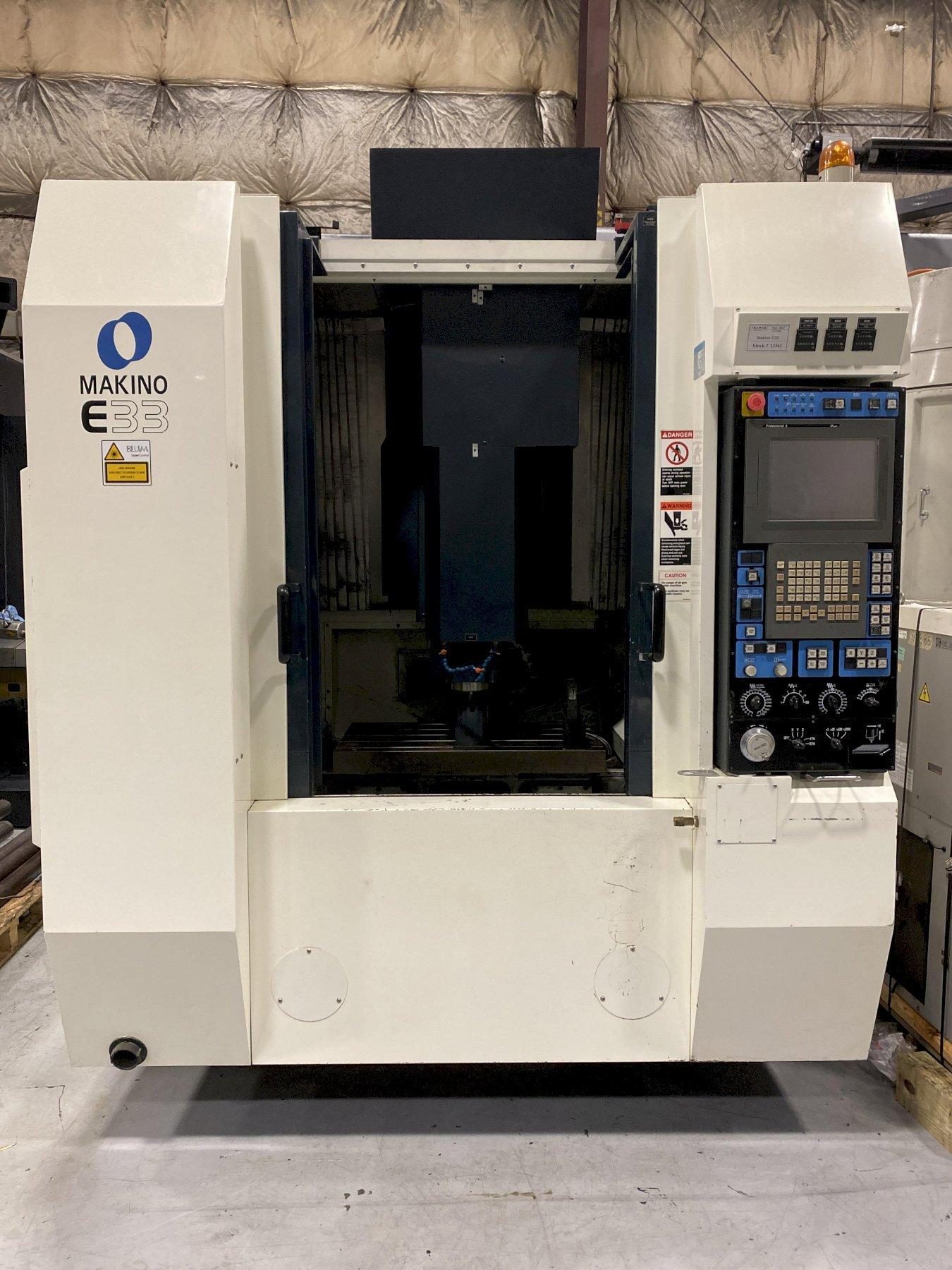 Makino E33 CNC Vertical Machining Center - 2007