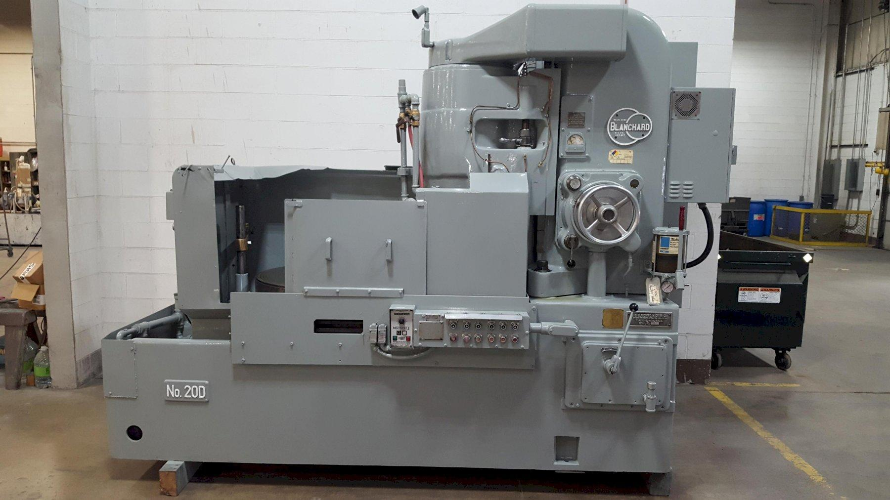 "36"" Blanchard Model 20D-36 Vertical Spindle Rotary Surface Grinder"