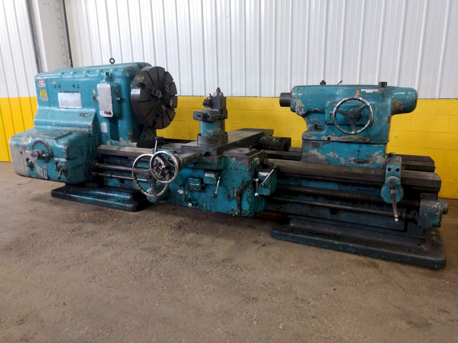 "46"" X 72"" AMERICAN PACEMAKER HEAVY DUTY ENGINE LATHE: STOCK #14548"