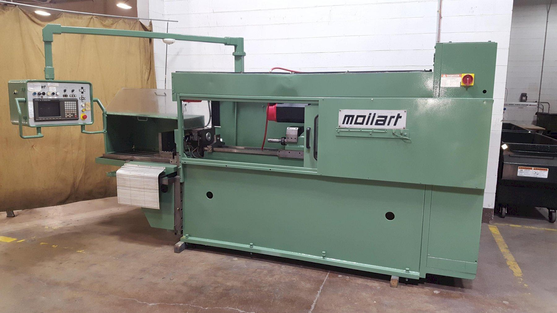"1"" x 40"" Mollart CNC OmniSprint Knee Type Gun Drilling Machine"