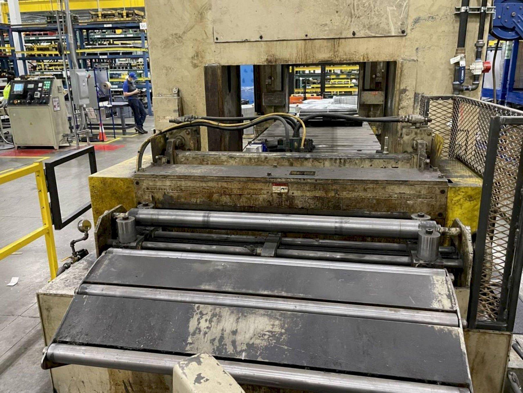 "48"" Coe Press Equipment Servo Coil Feed Line"
