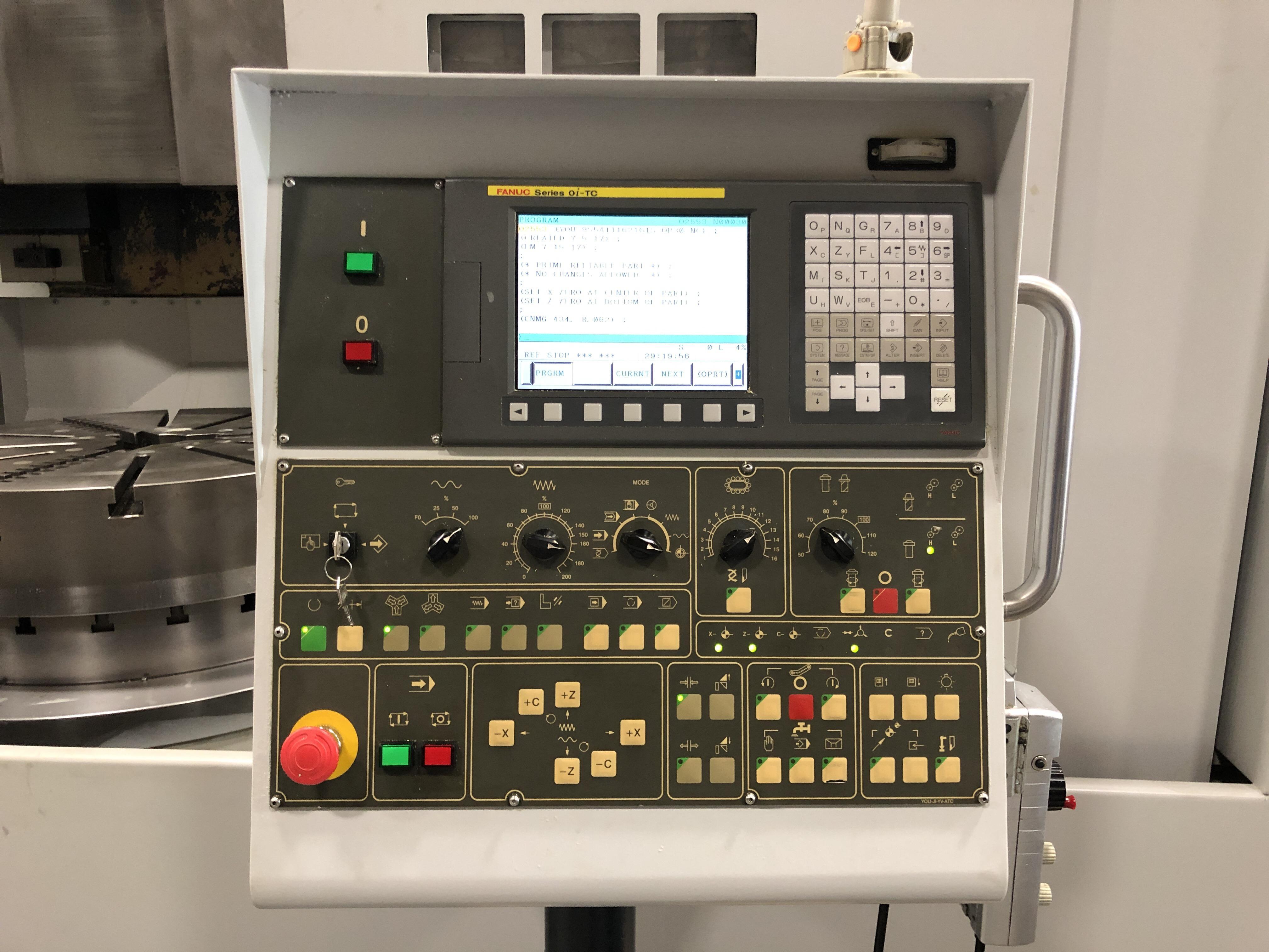 2006 YOU JI YV-1000 ATC - CNC Vertical Lathe