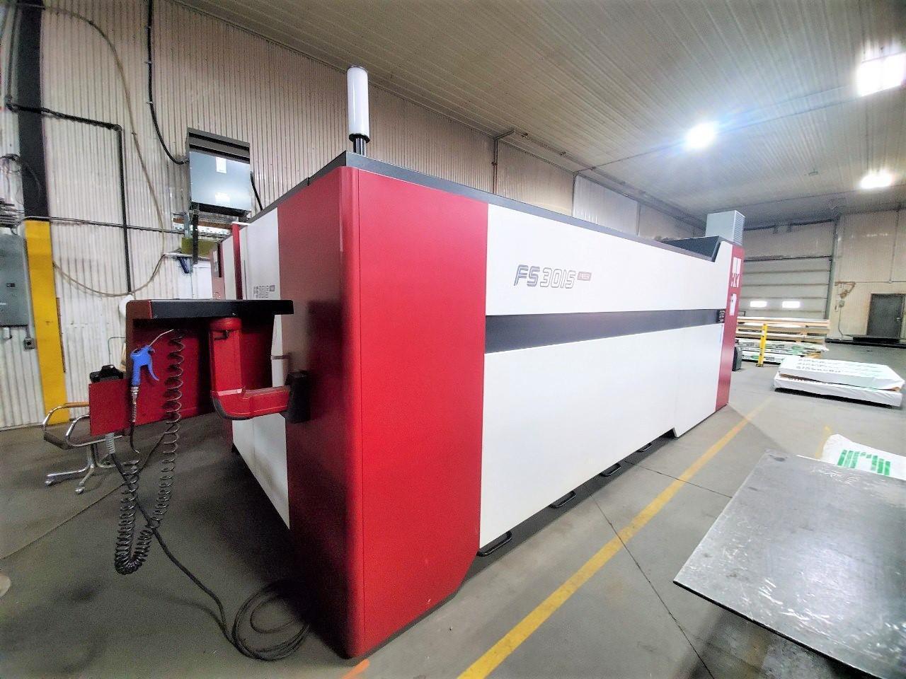 2018 HK FS3015, 5x10, 4000 Watt Fiber Laser