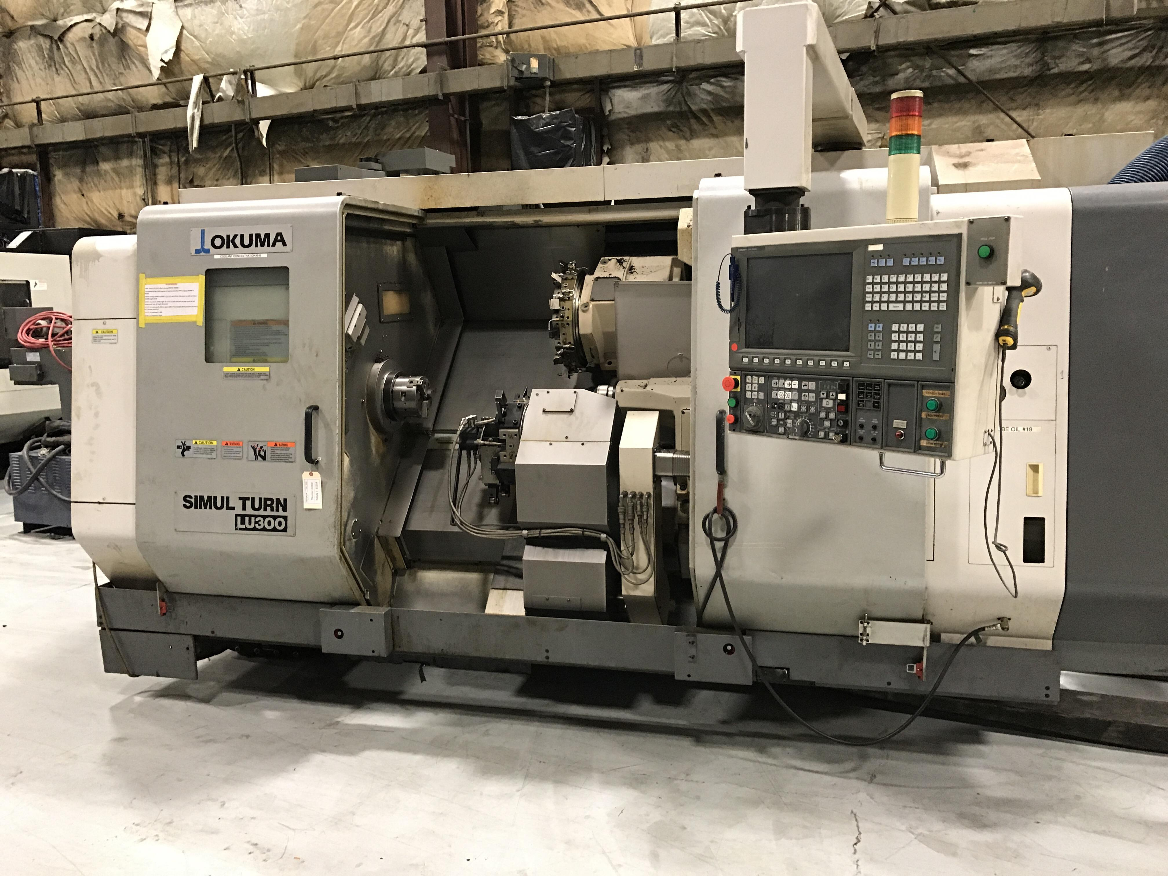 2009 OKUMA SimulTurn LU-300 - CNC Horizontal Lathe