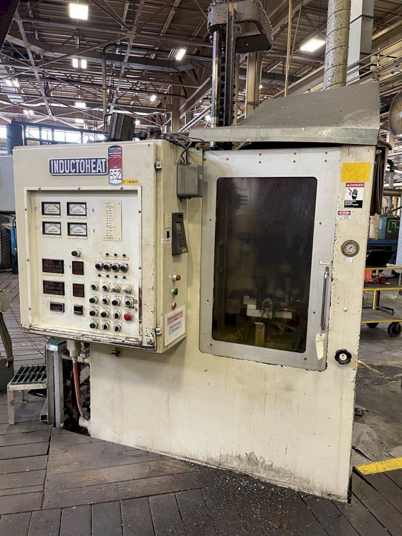 200 KW INDUCTOHEAT MODEL #USII-200-10 INDUCTION HEATER. STOCK # 0523021