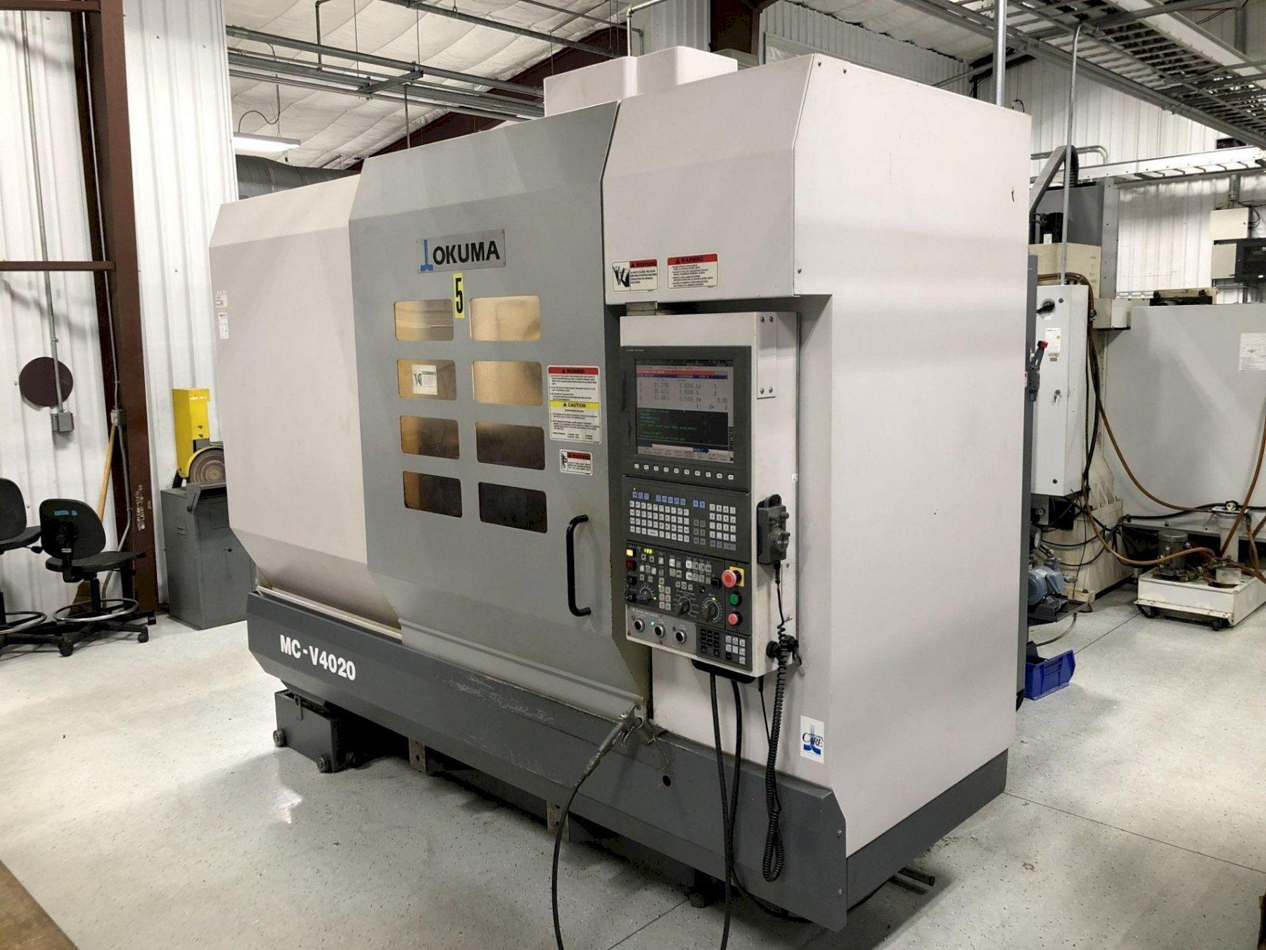 2007 Okuma MC-V4020 CNC Vertical Machining Center
