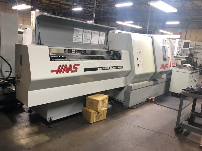 Haas SL-30 with Servo Bar 300