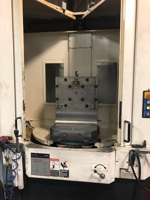 Makino A-61 CNC Horizontal Machining Center, Fanuc Pro 3 Control, 19.7