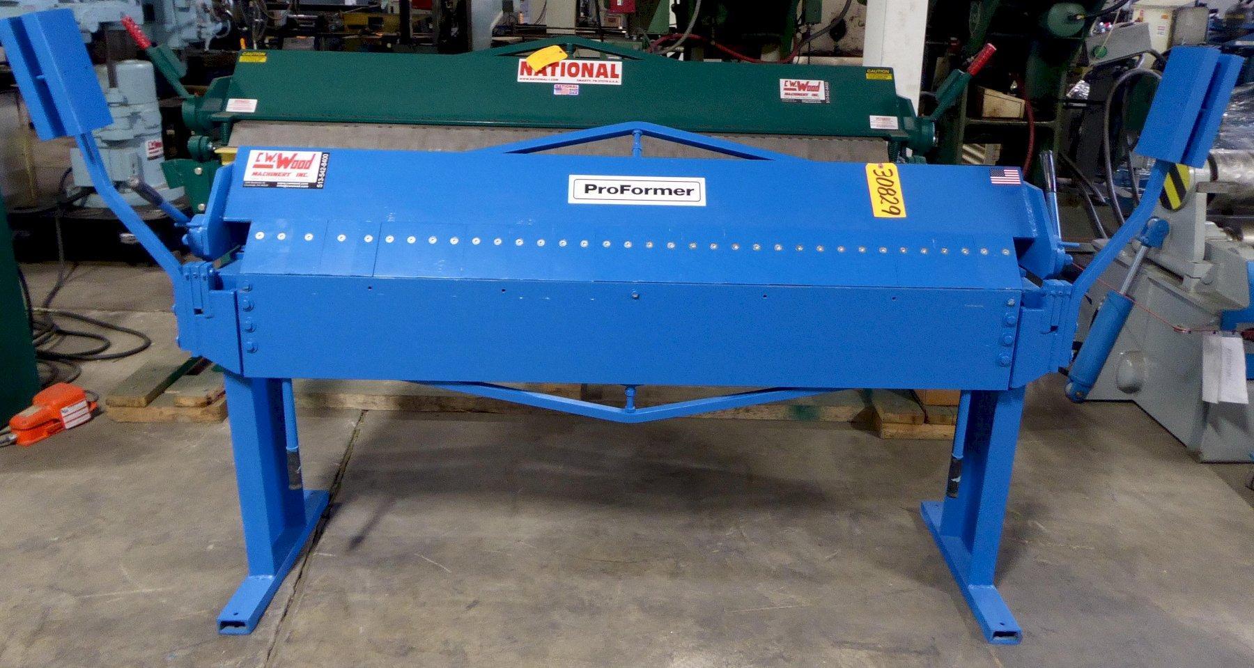 6′ x 16 Ga. Proformer Box & Pan Brake, Floor Model