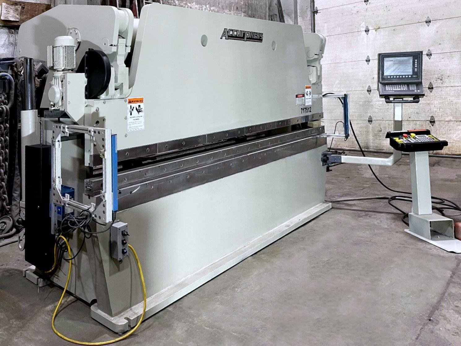 Accurpress 717512 175 Ton 6 Axis Press Brake