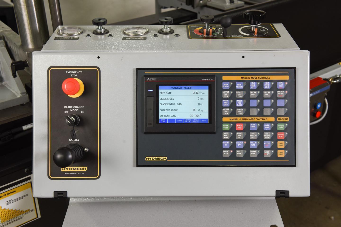 "NEW - 18""H x 22""W HYD-MECH V-18APC-60 AUTOMATIC VERTICAL TILT FRAME BAND SAW"