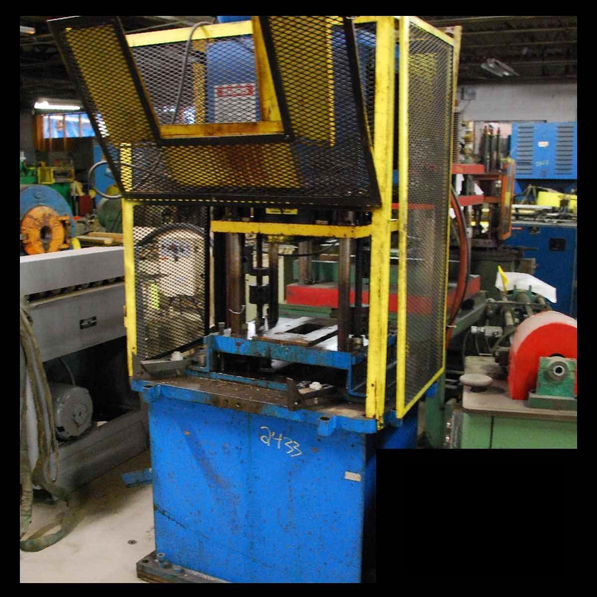 12 Ton PNEU POWR #4P-12, 4-Post Cut-Off Press