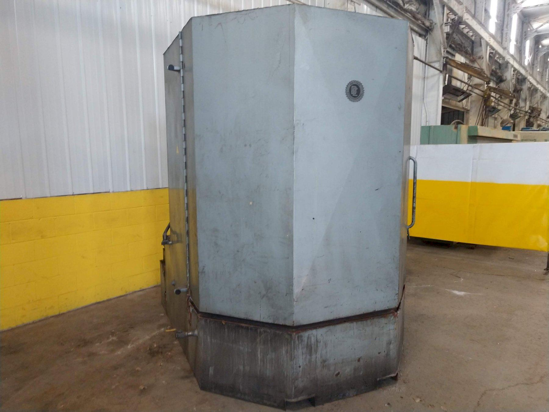 "60"" X 60"" BETTER ENGINEERING MODEL #F6000-LXP ROTARY TABLE PARTS WASHER: STOCK#12615"