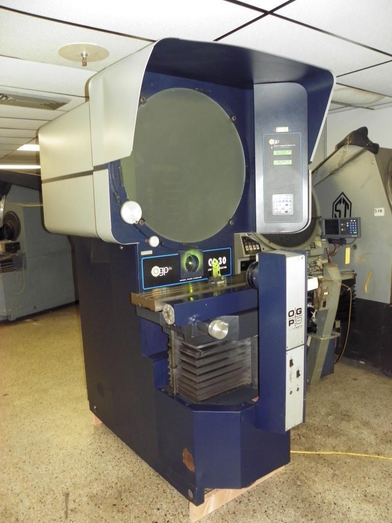 "30"" OGP (Optical Gaging Products) Model QL-30 Optical Comparator, S/N QL300359, New 1999."