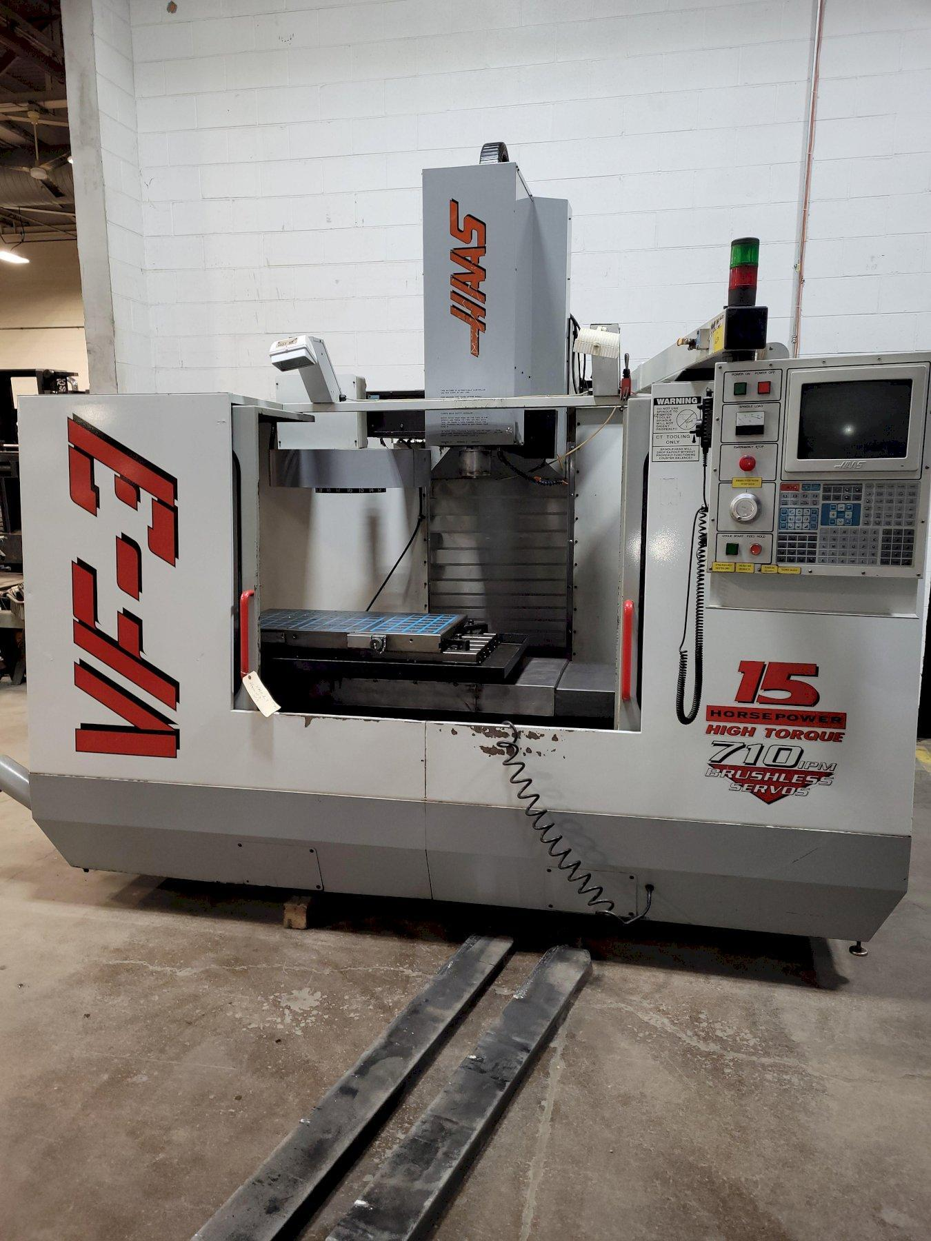 Haas Model VF3 CNC Vertical Machining Center